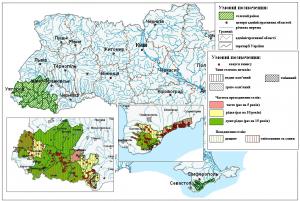 Поширення та інтенсивність селевого процесу у гірських і передгірських областях Карпат і Криму