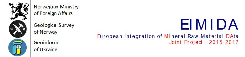 Проект EIMIDA - Європейська інтеграція даних про мінеральні ресурси